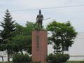 レルヒ中佐の像