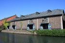 小樽運河沿いの建築物