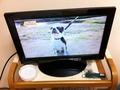 テレビと灰皿