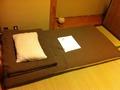 男性用ドミトリー 寝具