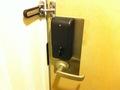 部屋玄関の鍵
