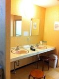 脱衣所の洗面所