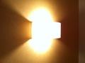 ベッドサイドの照明