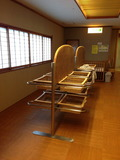 和風大浴場の更衣室2