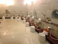 洋風風呂の洗い場全景