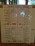 宿から各観光地への所要時間とアクセス表