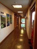 ロビーの廊下