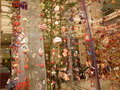 館内の雛飾り(吊し飾り)