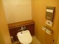 宴会場フロアのトイレはちょっとグレードアップ