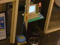 1階ロビーにあるパソコン(コイン式)