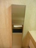 3階トイレ洗面にはペーパータオル