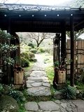源泉の入り口