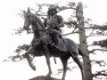 伊達政宗の銅像(仙台城址)