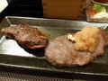 ステーキです。
