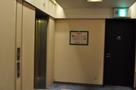 宿泊階のエレベータホール