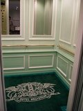 エレベータの内部