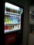 ジュース・酒類の自販機(ランドリールーム)
