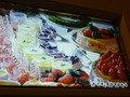 1階ロビーラウンジのデザートの看板