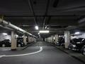 地下駐車場の様子