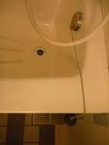 風呂の栓はコルク式