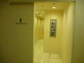 男子トイレの入り口