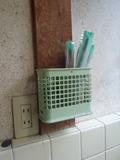 本館 共同洗面所に。
