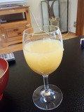 朝食 ジュースはもちろん!!!