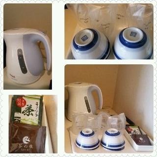 写真クチコミ:お茶セット 湯沸かしポット