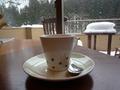 食後の嬉しいコーヒーは・・・