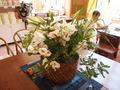 ロビーの生け花