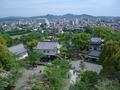 犬山城からの展望は最高