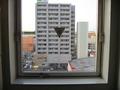 エレベーター付近の窓からの風景。その1