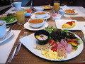 豪華朝食。