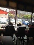 Trattoria&CaffePasso 店内からの風景