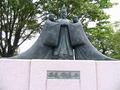 安寿と厨子王と母の像