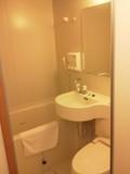 バスルームはユニット。