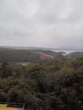 的矢大橋から志摩スペイン村を望む。