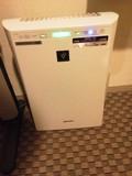 空気清浄機が備え付け。