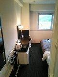 狭さを感じさせない居室。