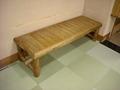 雨情の湯(露天風呂)の脱衣所の長椅子