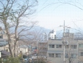 眺望(うっすらと山が)