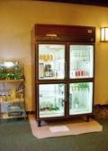 ドリンクの冷蔵庫