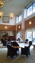 登別グランドホテルのロービーです