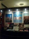 ホテルオークラの催しパンフレット台