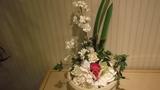 ロビーに飾ってある花
