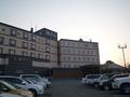 駐車場からホテル前