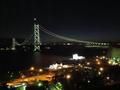 明石大橋が望めます