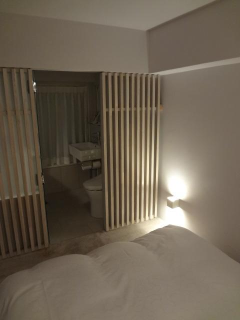 今まで宿泊したこののないタイプの部屋でした