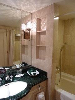 バスルームも快適でした