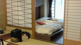 テンピュール社製のベッドルーム